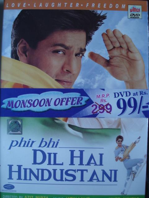 Phir Bhi Dil Hai Hindustani Movie DVD